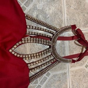 Cranberry cocktail/junior prom/sweet 16 dress